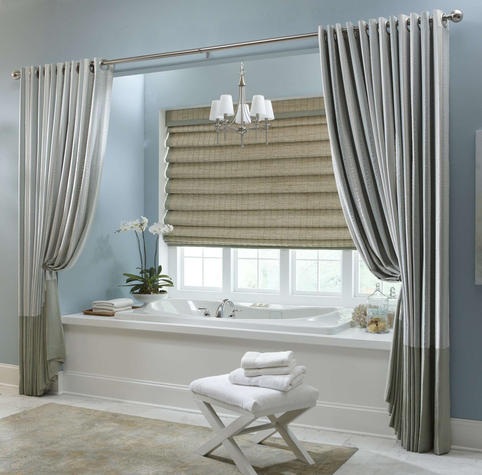 Oversized Shower Curtains Long Ideas