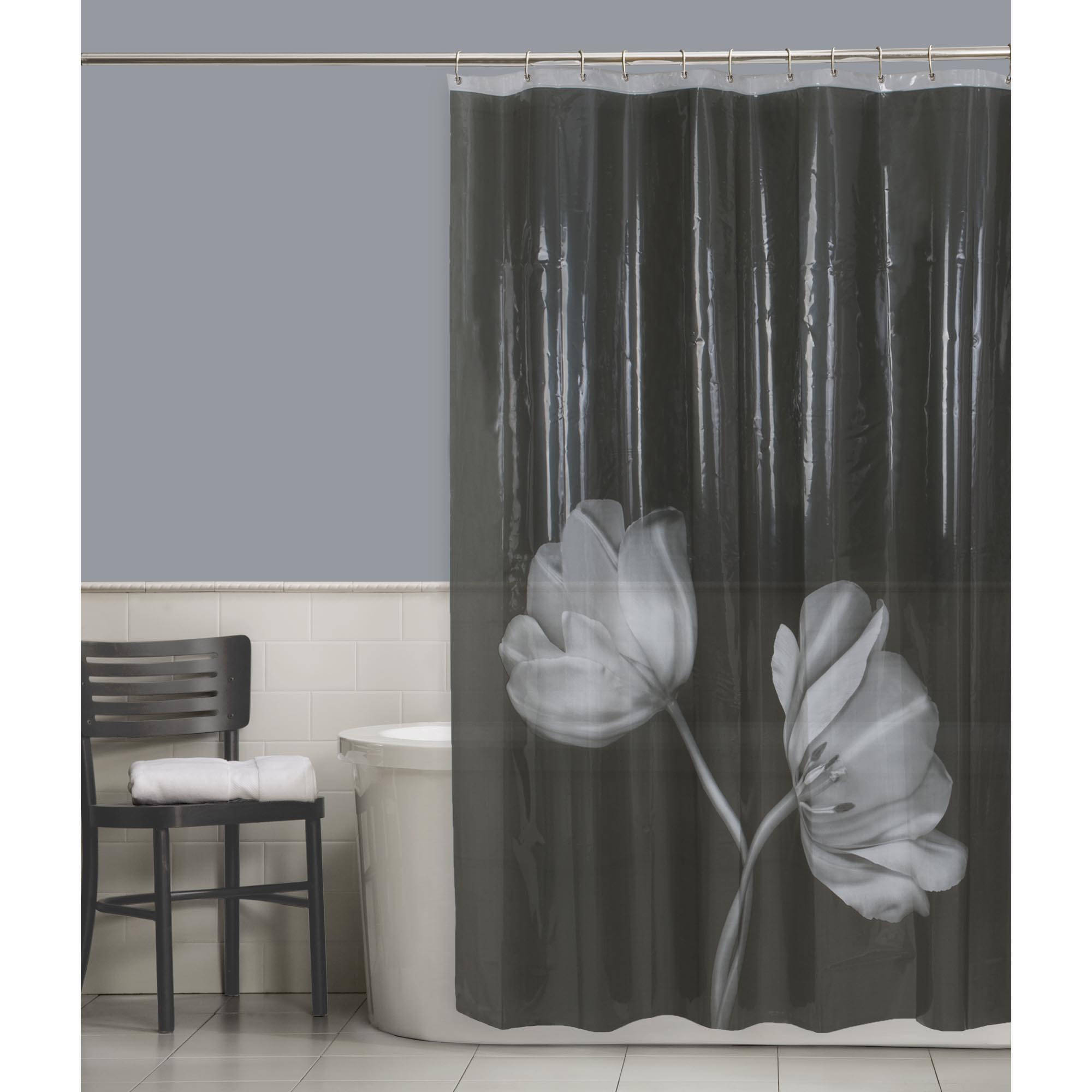Cocoa Flower Shower Curtain With Regard To Measurements 2000 X