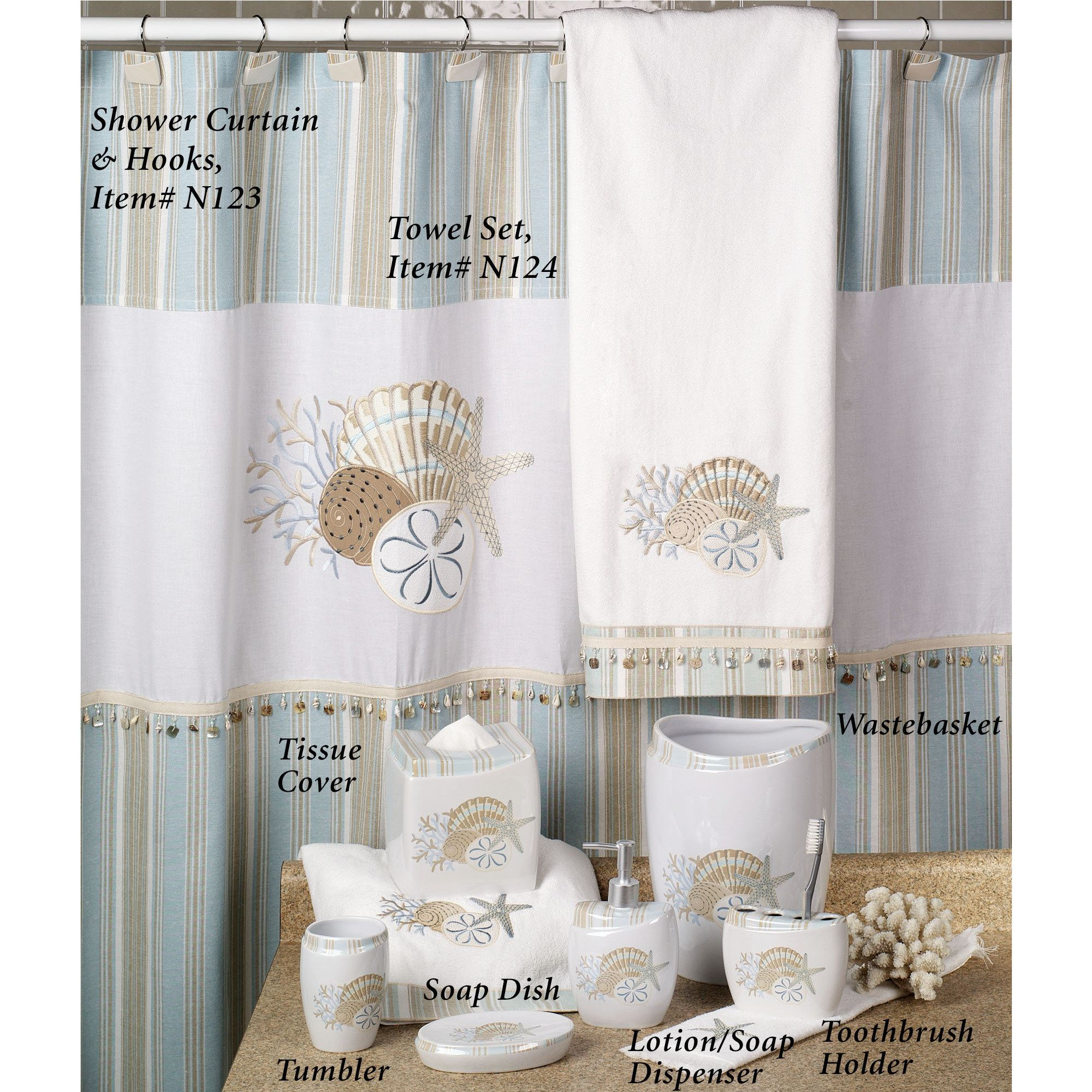 Coffee Tables Lighthouse Shower Curtain Starfish Shower Curtain for size 2000 X 2000