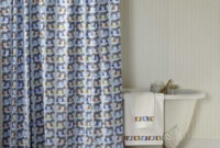 Cool Design Ideas Of Navy Blue Shower Curtains Decorating Razode with regard to measurements 915 X 1317