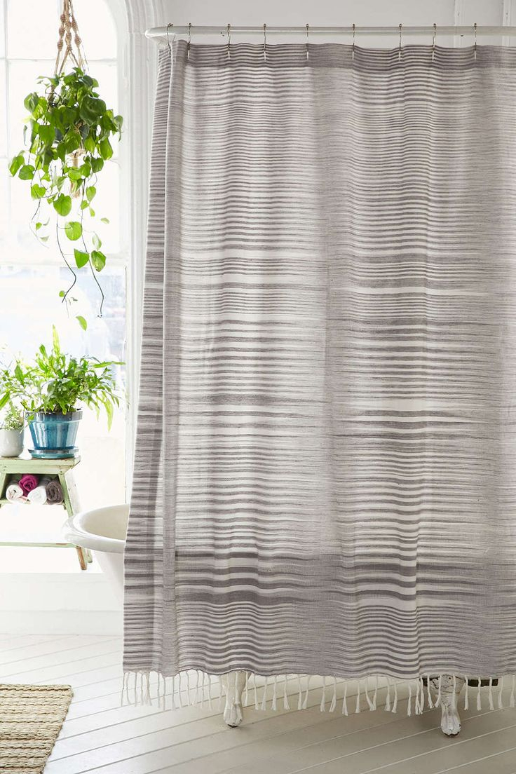 Curtains Garden Buzz Shower Curtain Anthropologie Boho Shower pertaining to proportions 736 X 1104