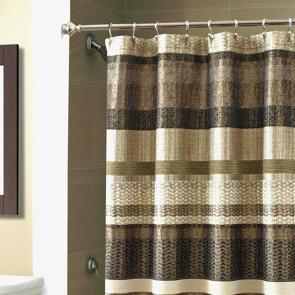 84 Inch Double Curved Shower Curtain Rod Curtain