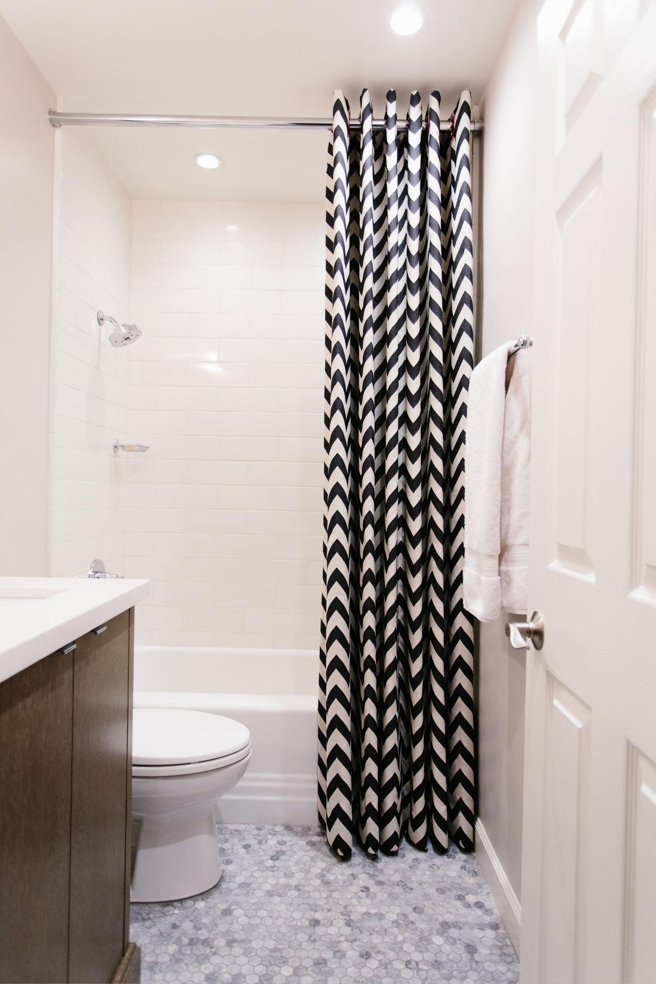 Shower Curtain From Ceiling To Floor Curtains Ideas