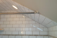 Install Shower Curtain Rod Sloped Ceiling Pranksenders pertaining to measurements 1600 X 1200