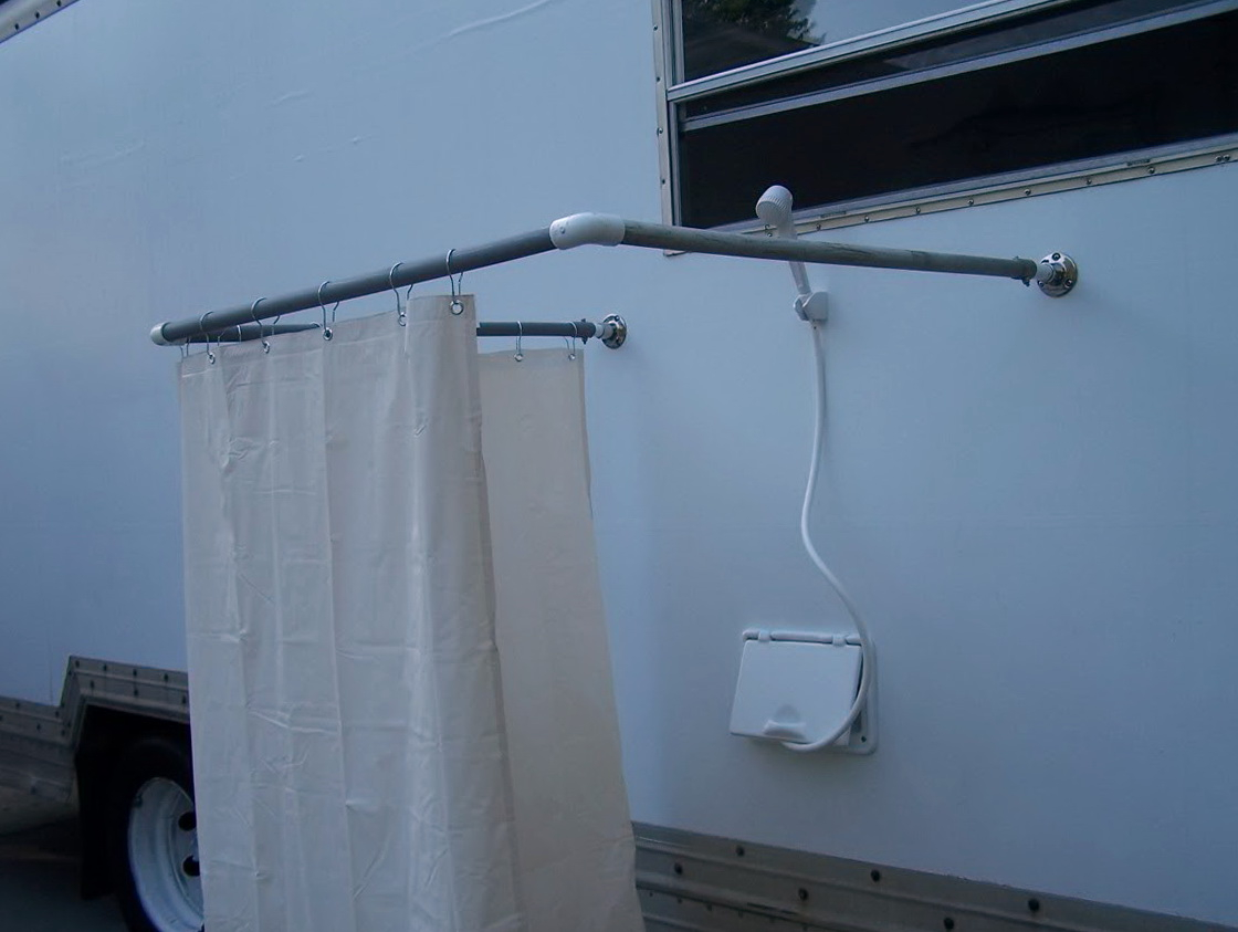 Outdoor Shower Curtain Ideas Home Design Ideas with regard to size 1120 X 843