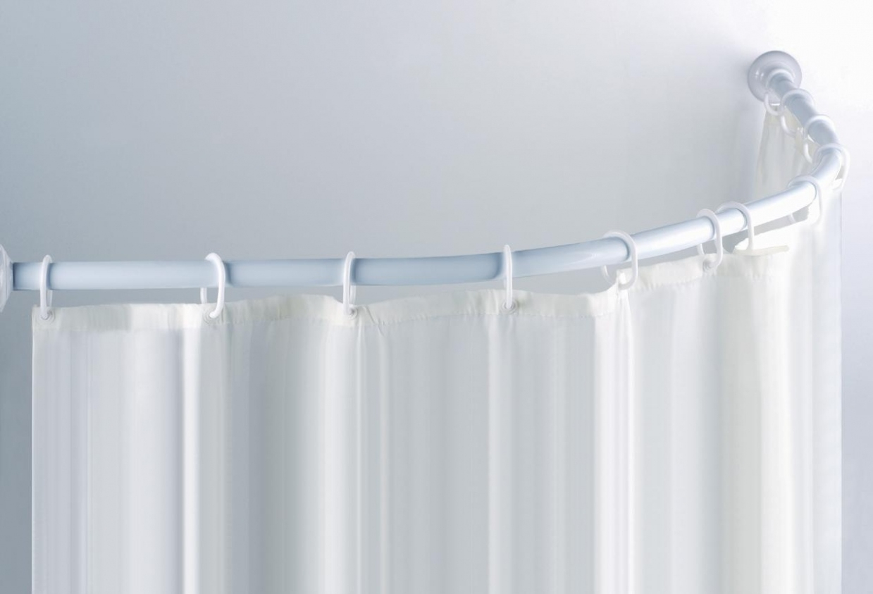 Neo Round Shower Curtain Rods Curtains Ideas