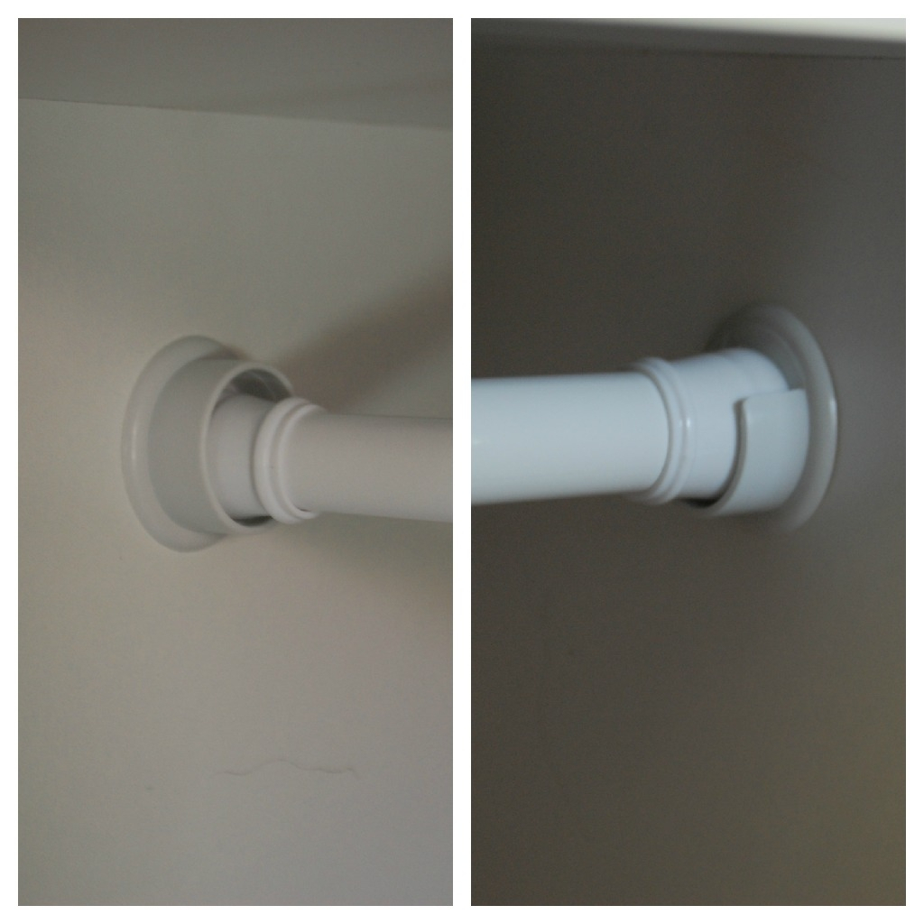 Tension Shower Curtain Rod Keeps Falling Down With Regard To Measurements 1024 X