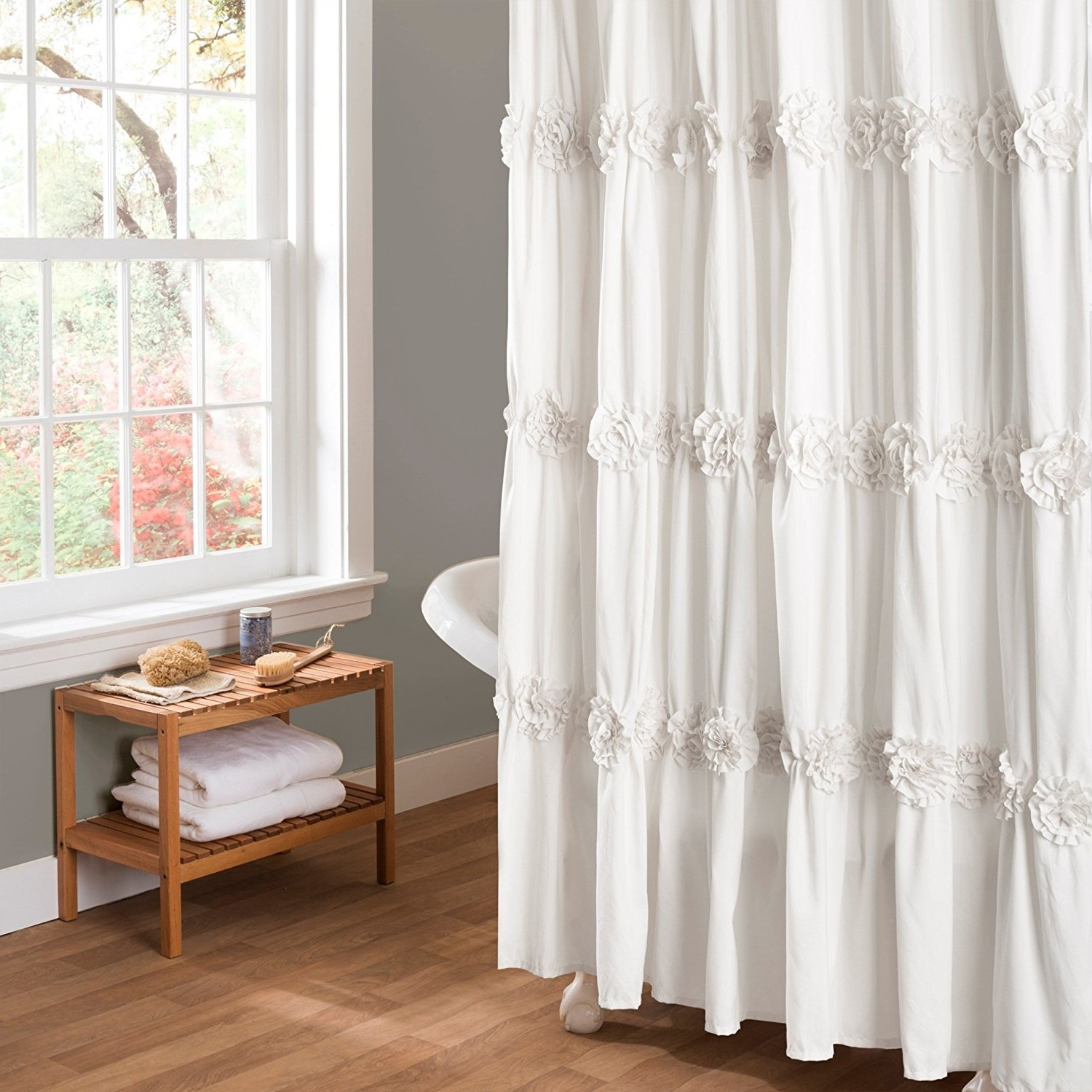 Thick Terry Cloth Shower Curtain Designs
