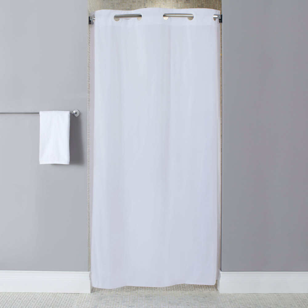 Single Stall Shower Curtain Liner Curtains Ideas