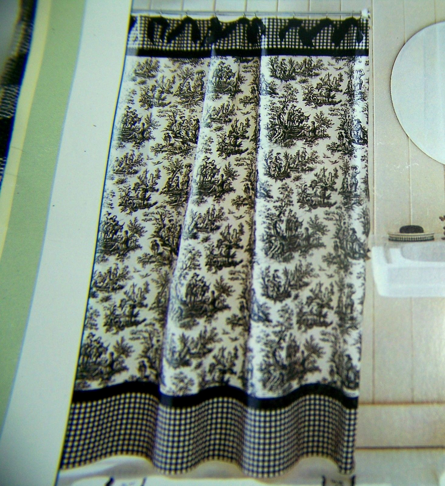 Waverly Shower Curtains Toile Ideas