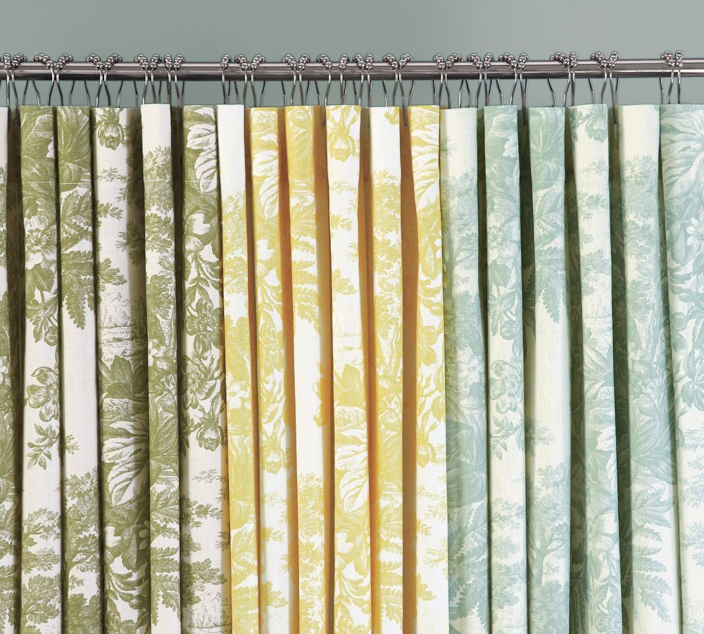 Yellow And Blue Toile Shower Curtains Useful Reviews Of Shower pertaining to measurements 1000 X 900
